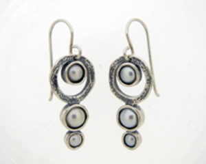 Specials Silver Earrings with Stones
