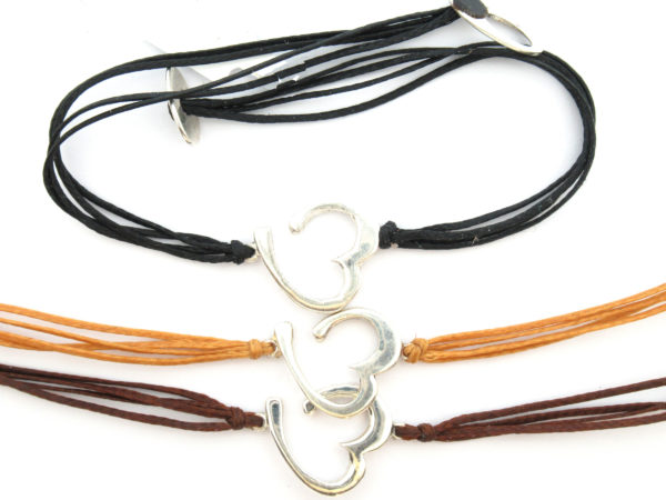Cord Bracelets and Necklaces