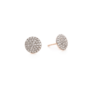 nom nom pebble diamond earrings